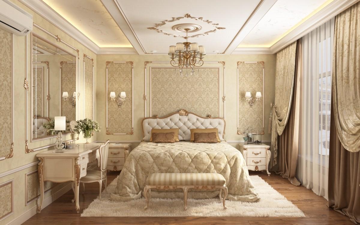 Квартира в стиле той самой классики, которую чаще всего хотят заказчики