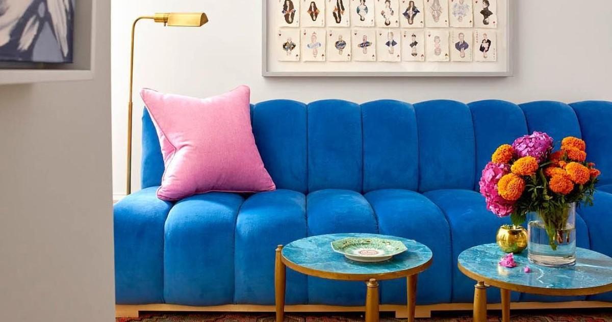 Самые модные оттенки в дизайне интерьеров на 2018 год: бирюзовый, розовый и латунь