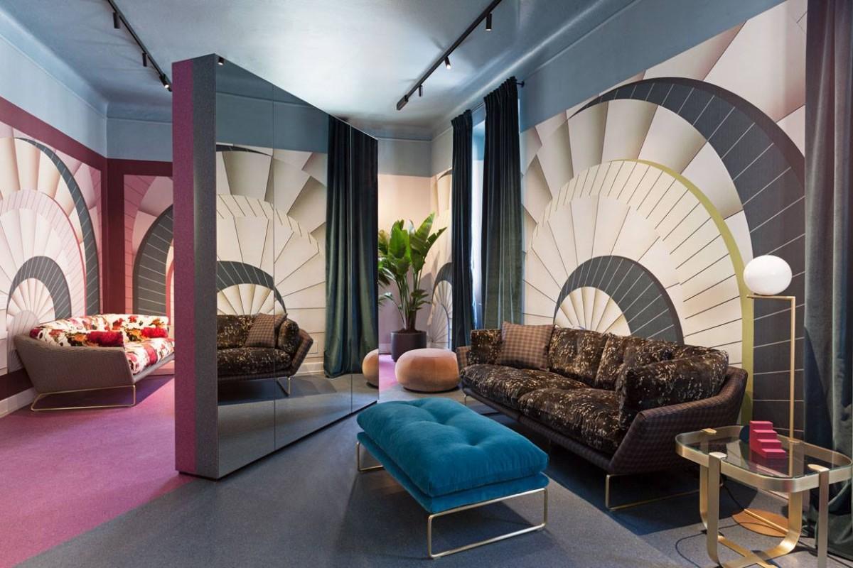 Антонио Маррас: обивка для дивана от дизайнера одежды
