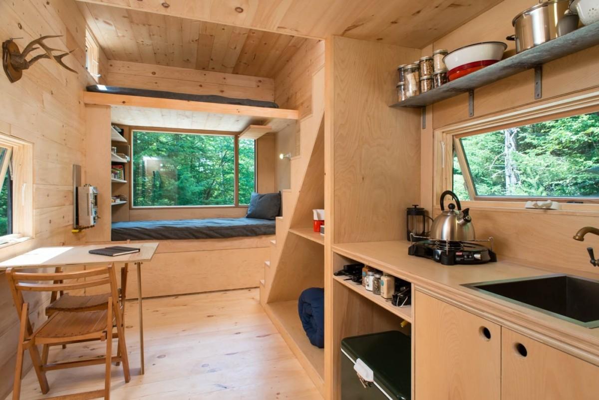 10 интерьеров маленьких домиков, которые вам понравятся