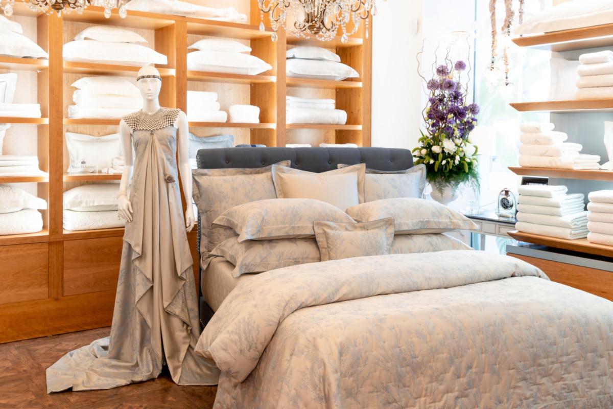Компания Yves Delorme представила коллекцию осень-зима — 2019