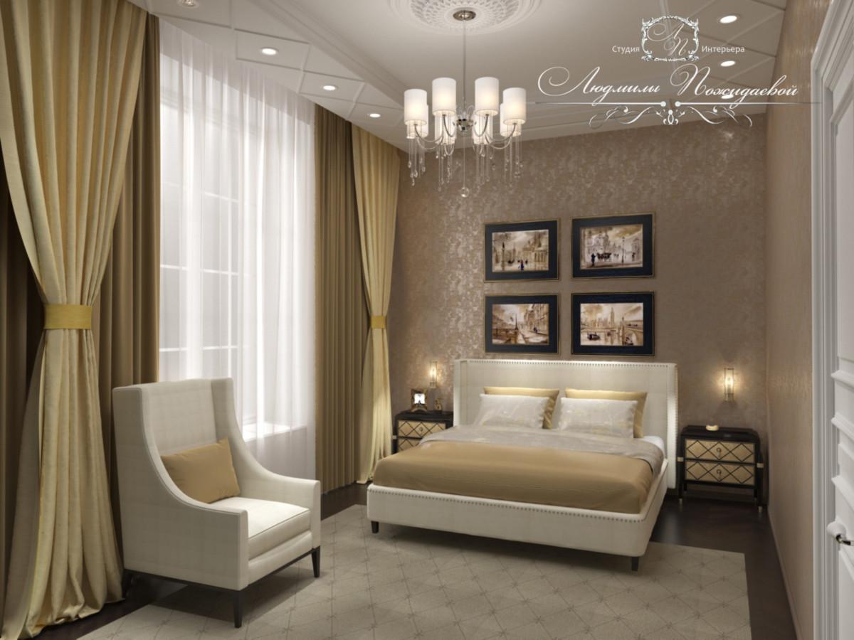 Гостевая спальня с легкостью может стать постоянным проживанием для любого члена вашей семьи, доделайте в ней все, пусть будут гардеробные, тумбочки, комод, телевизор и комод.