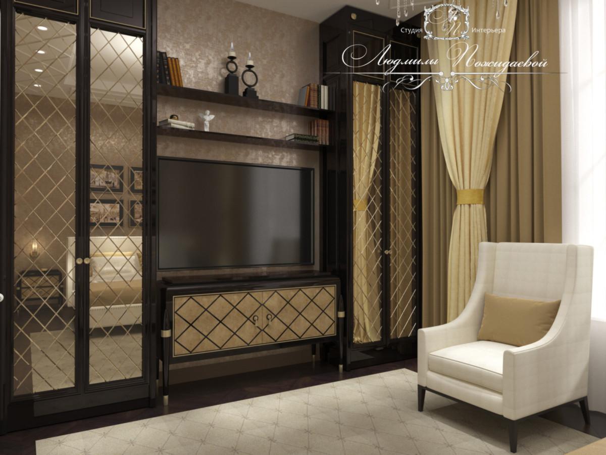 Скучные статичные шкафы всегда подавляют настроение обитателей , поэтому не пожалейте времени на разработку интерьера фасадов шкафов.
