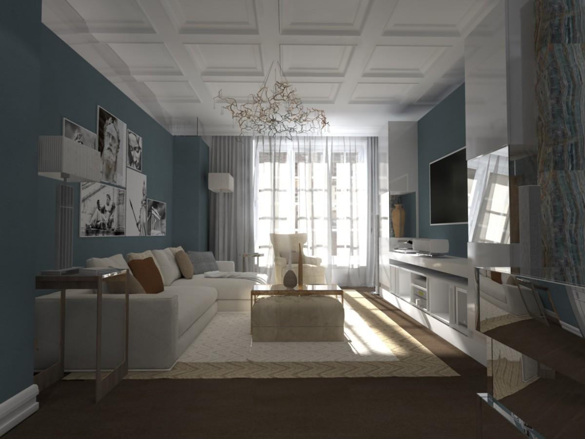 Дизайн квартиры для счастливой семьи