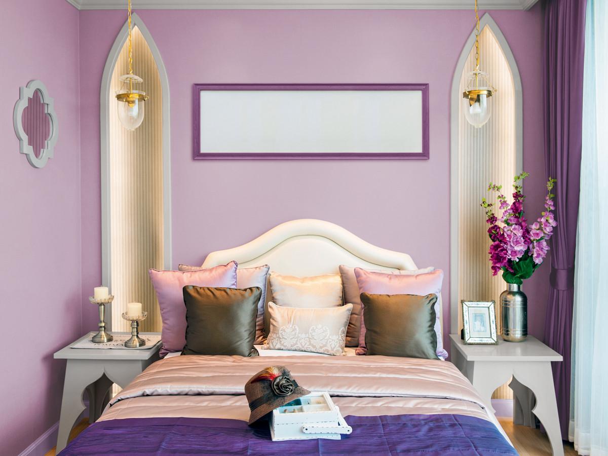 Лучшие цвета для спальни: 22 фото