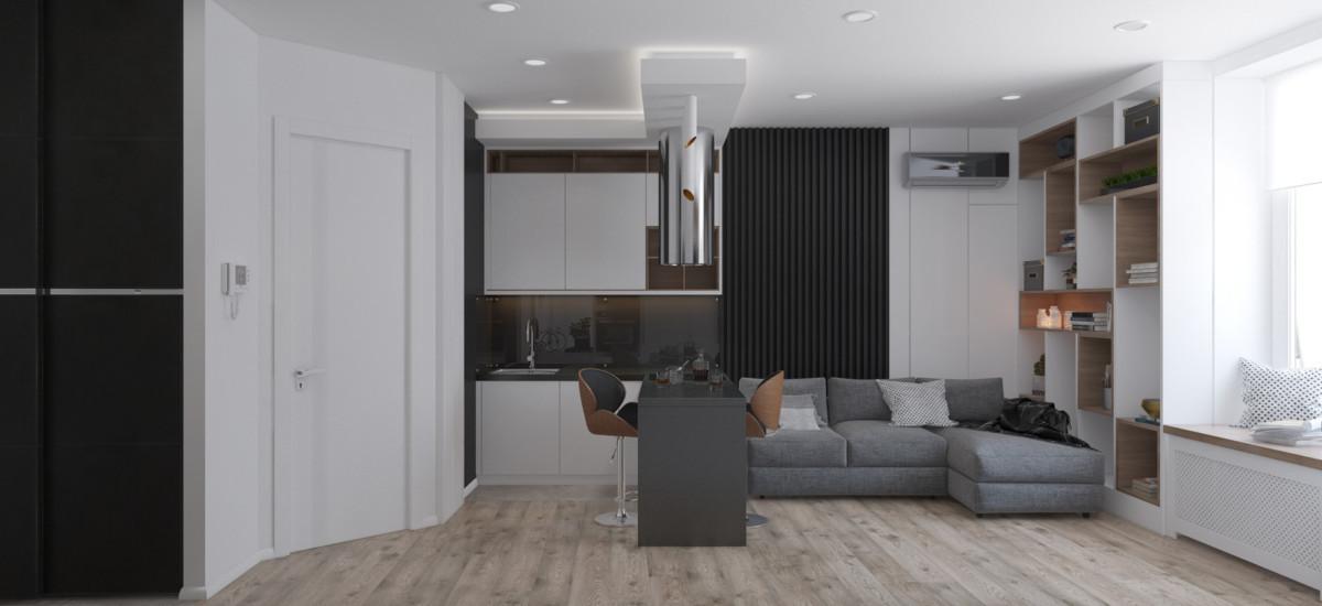 Дизайн квартиры площадью 29 метров