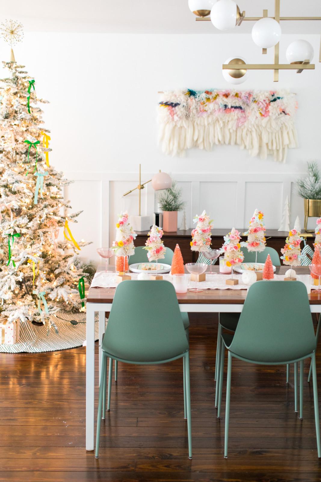 6ba1897e79e786d Самые красивые новогодние столы: 35 эффектных фото — Roomble.com