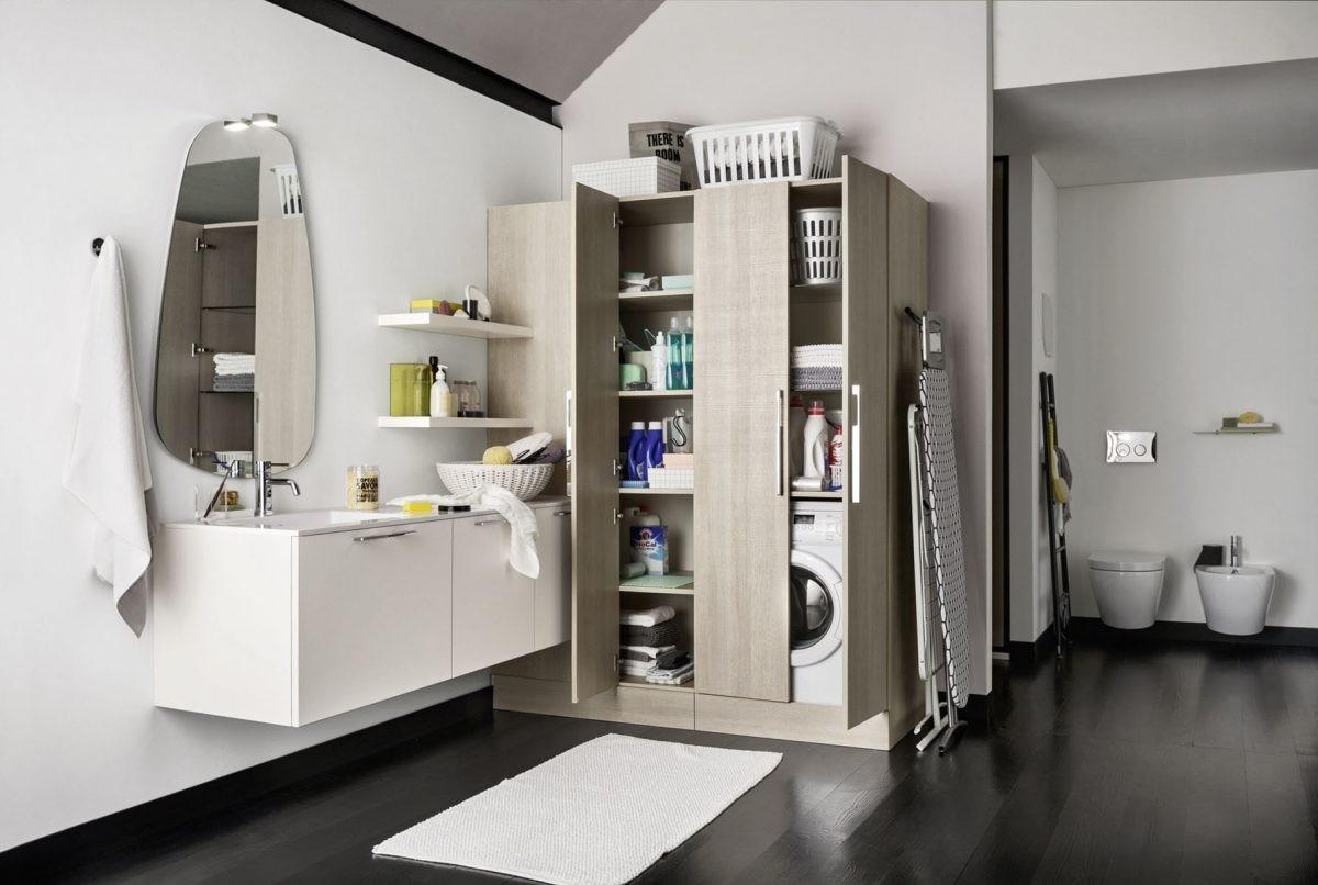 Как красиво оформить прачечную зону в квартире