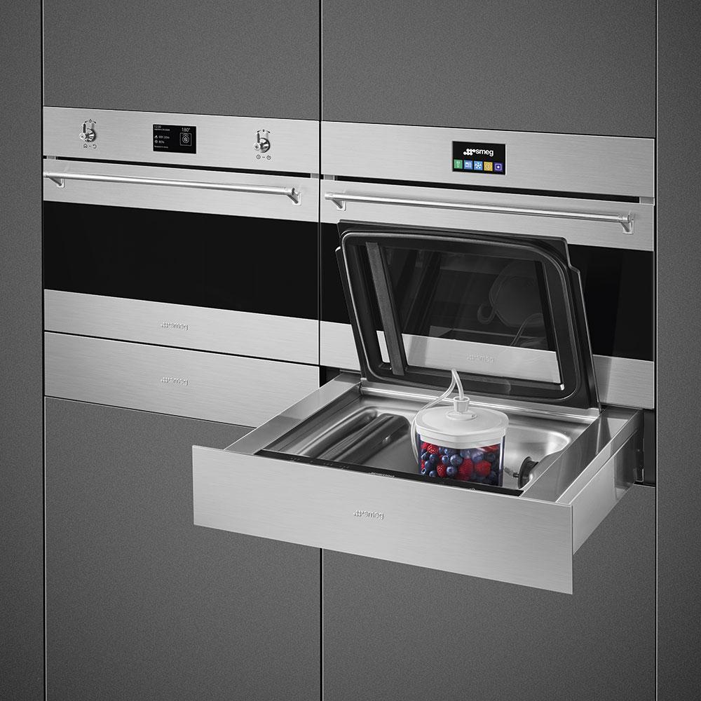 Готовим в вакууме: новинка для кухни от Smeg
