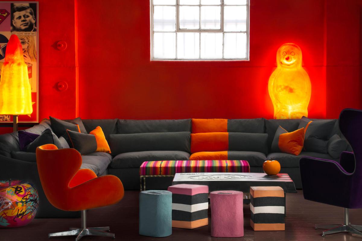 «Вкусный» дизайн: мебель в виде сладостей и леденцов