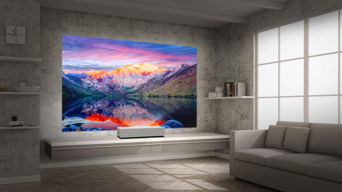 На выставке IFA LG представит новейшие проекторы 4К