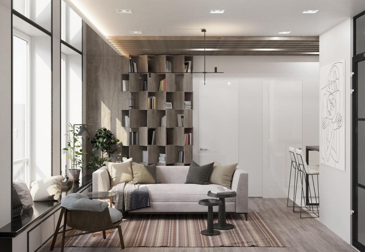 Модный интерьер — 2019: проект перепланировки квартиры для семьи из трёх человек