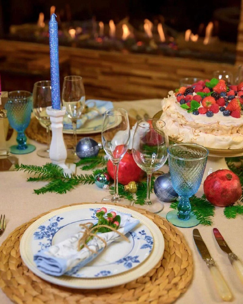 5 лайфхаков от Анны Муравиной: как быстро и красиво украсить праздничный стол