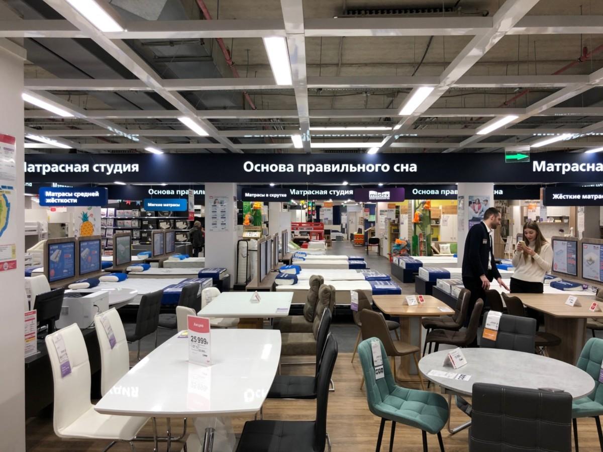 В ТЦ «Гранд ЮГ» открылся гипермаркет мебели Hoff