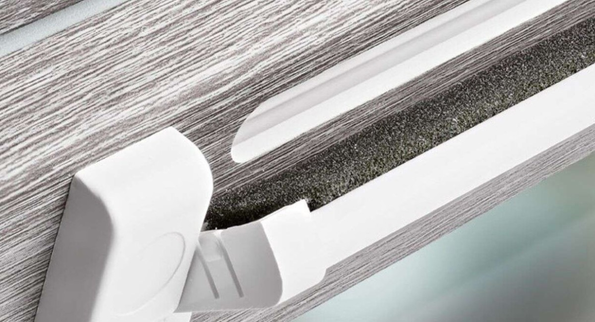 Компания Rehau представила три модели приточных клапанов на окна