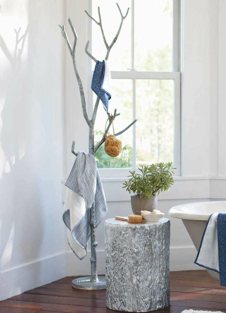 Идеи для ванной комнаты: как красиво хранить и вешать полотенца