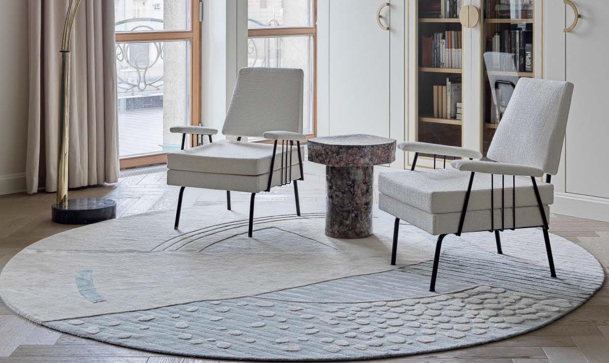 В Москве появились новые модели ковров ручной работы Tapis Rouge