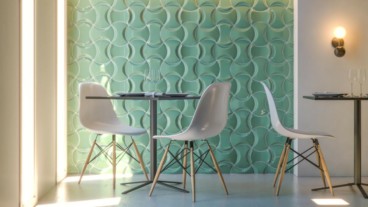 Компания Cevica нашла новый необычный стиль керамики
