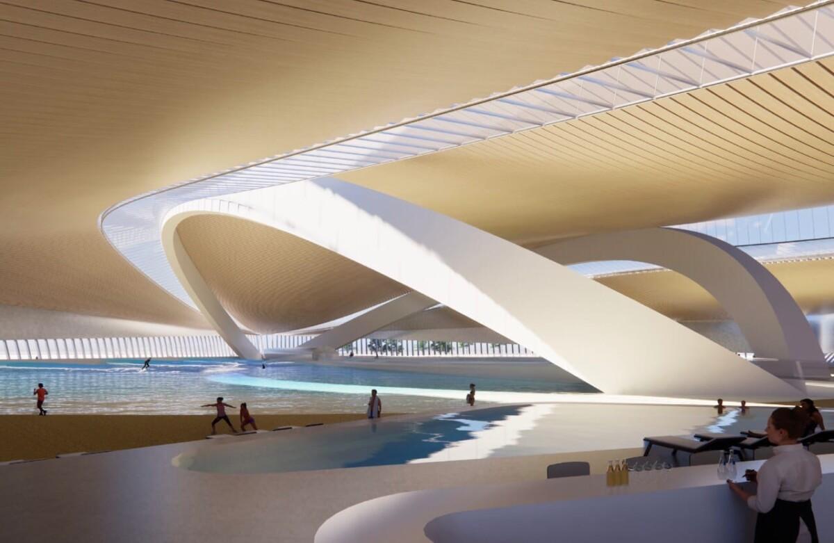 В Москве к 2023 году построят крытый центр для занятий сёрфингом